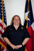 McQueeneyFD-Firefighter, Safety Officer, EMT and Secretary Skye Murphy