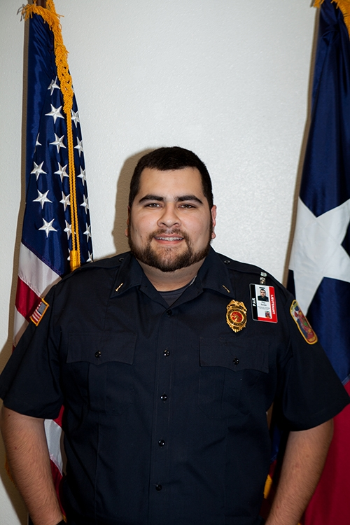 McQueeneyFD-Assistant Chief, Firefighter & ECA Ray Salas, Jr.