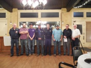 installation of officers at McQueeney VFD